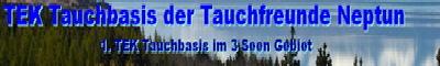 1.Tek Tauchbasis im Oberfälzer Seenland